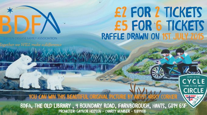 BDFA Raffle Ticket