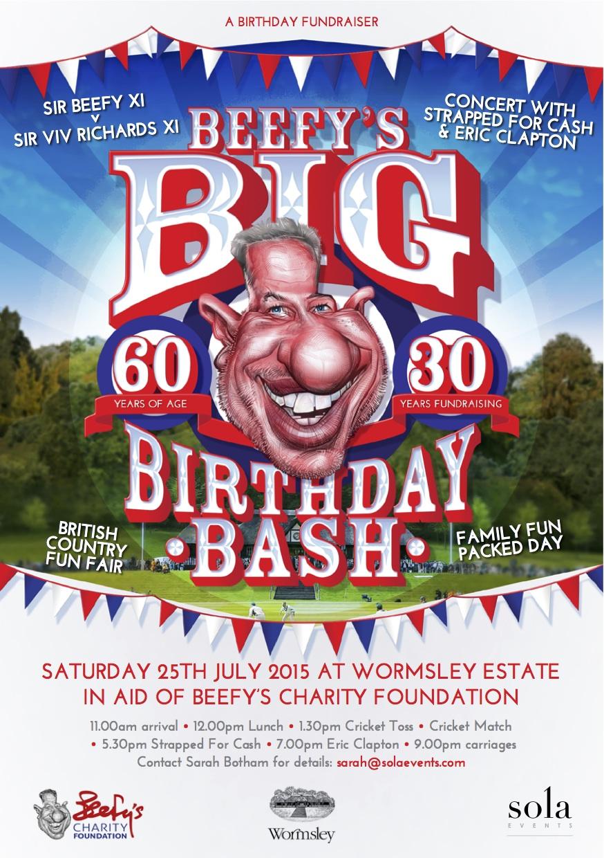 Sir Ian Botham's Big Birthday Fundraiser