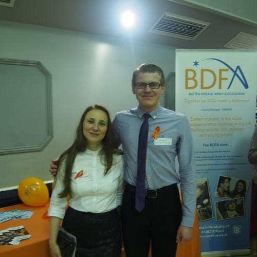 Emilia Stefanescu And Ross Squair, BDFA Volunteers