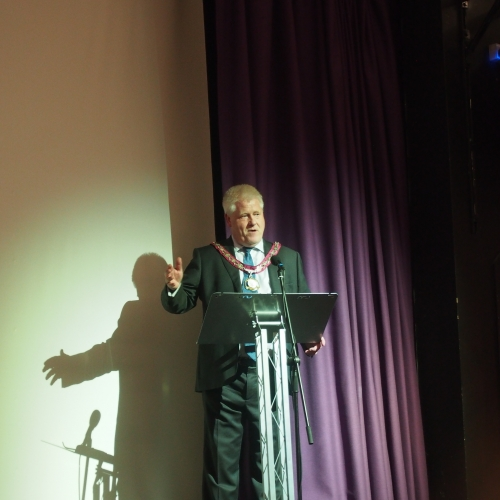 Councillor Alan Oliver, The Chairman Of Hart District Council