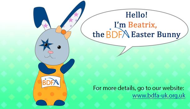 Meet Beatrix The BDFA Easter Bunny