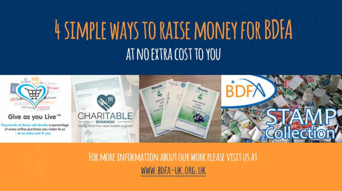 4 Simple Ways To Raise Money For The BDFA
