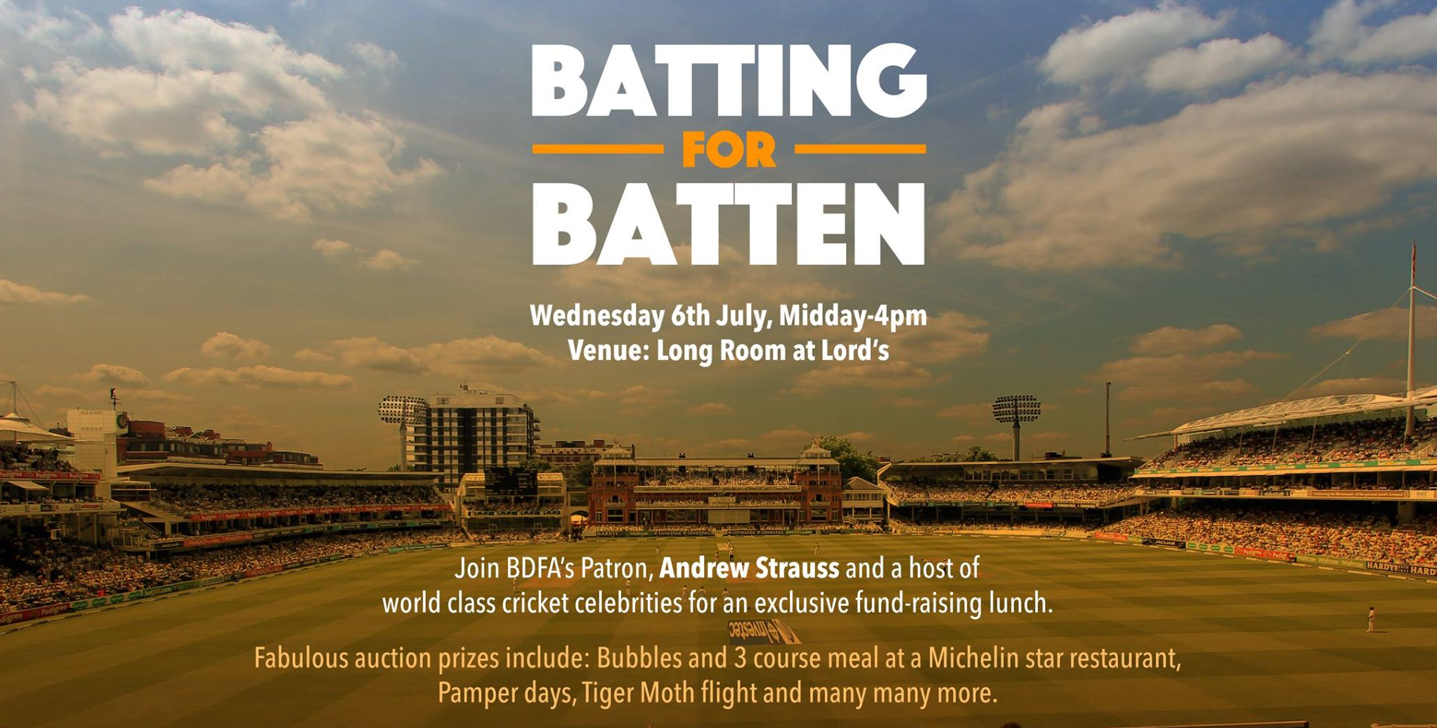Batting for Batten Lunch 2016