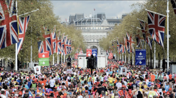 Harriet Is Running The London Marathon