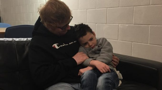 Ollie Meets His Hero, Ed Sheeran
