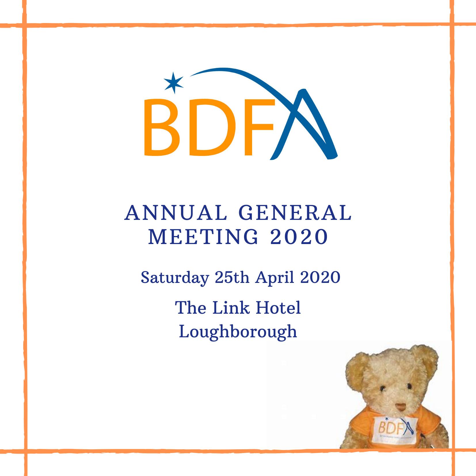 BDFA AGM News!