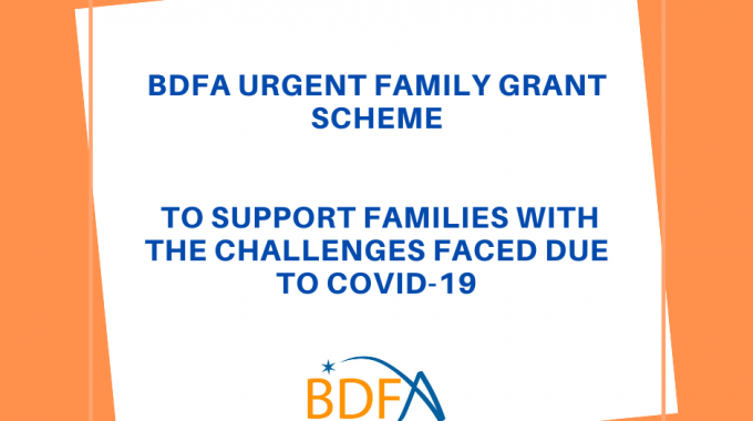 Urgent Family Grant Scheme To Support Families With The Challenges Faced Due To Covid-19