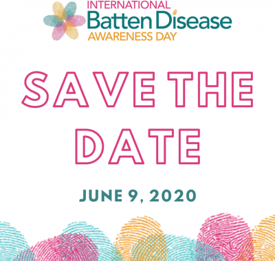 Dont Forget Batten Disease Awareness Day- Tuesday June 9th 2020