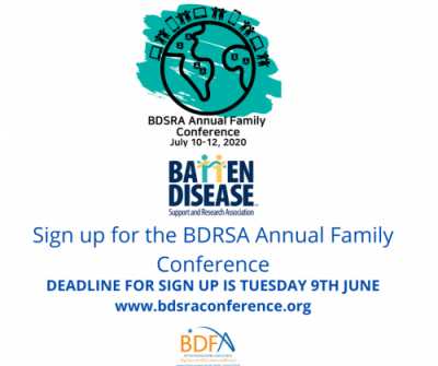 BDSRA Online Conference July 10th – 12th 2020