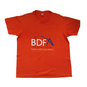BDFA T Shirt FRONT FINAL