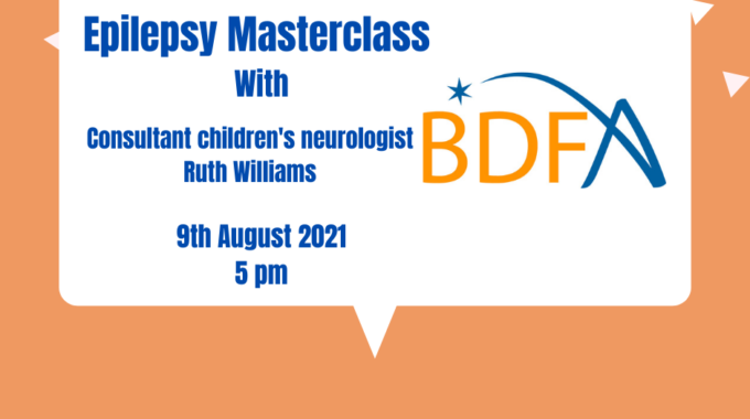 Epilepsy Masterclass- With Dr Ruth Williams