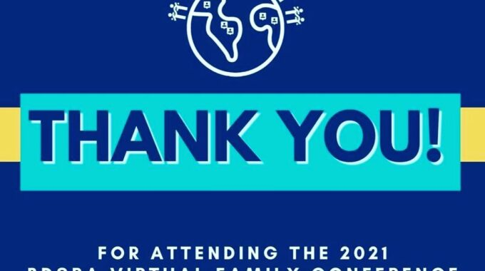 THANK YOU TO BDSRA ATTENDEES