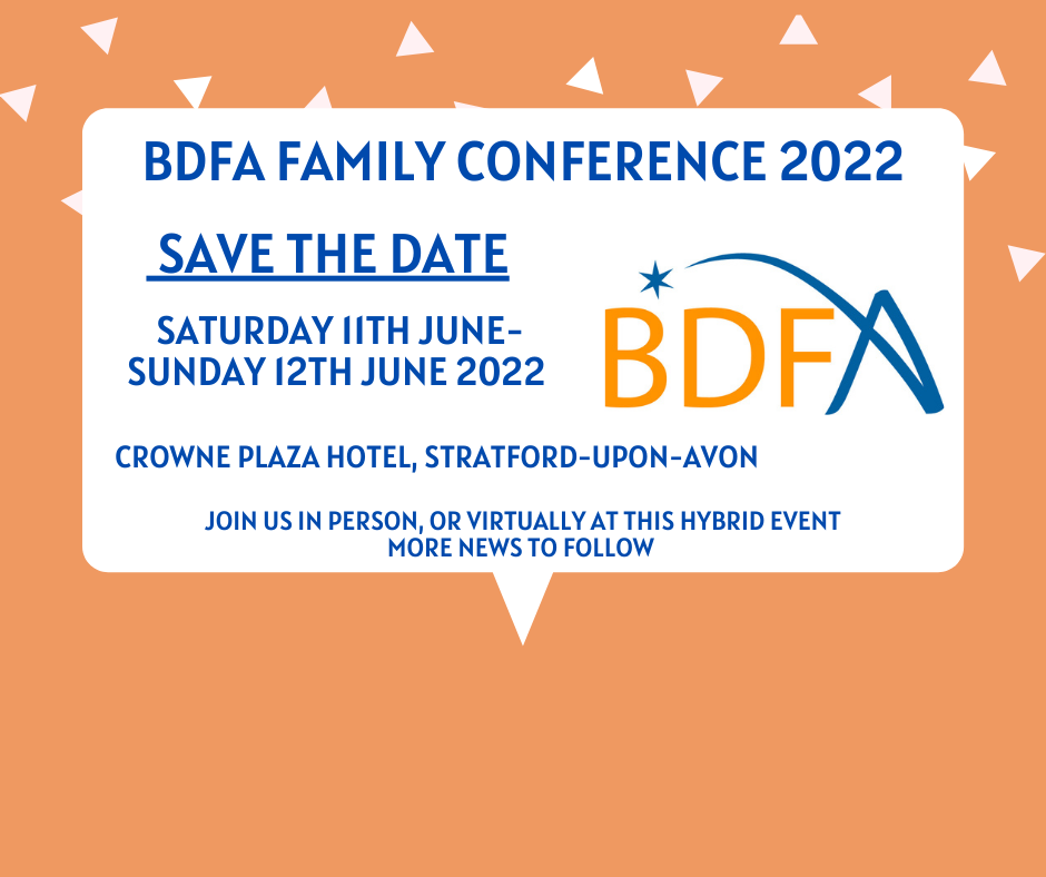 The BDFA Family Conference Is Back In 2022