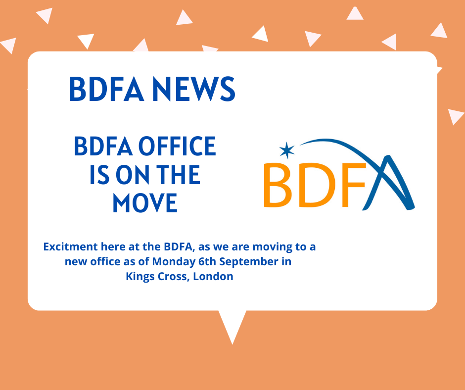 BDFA Office Is Moving To A New Home