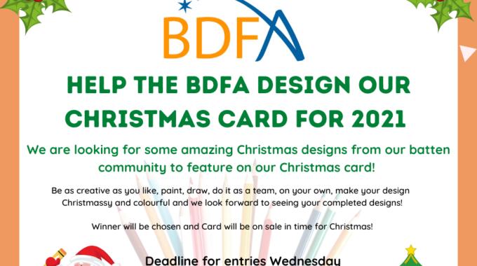 BDFA Christmas Card Competition
